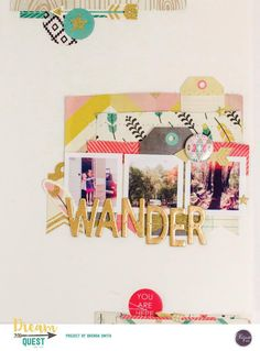 clique kits, dream quest  @lillylanephoto #cratepaper  by #journey
