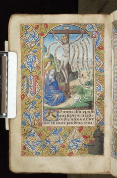 Book of Hours, MS M.815 fol. 30v - Images from Medieval and Renaissance Manuscripts - The Morgan Library & Museum
