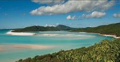 1,000 Places to See Before You Die - THE WORLD'S MOST BEAUTIFUL BEACH? WHITEHAVEN BEACH, WHITSUNDAY ISLAND, QUEENSLAND, AUSTRALIA At Whitehaven Beach, considered one of the world's most beautiful beaches, clear aqua waters lap against 7 miles of sugar-white silica sand.