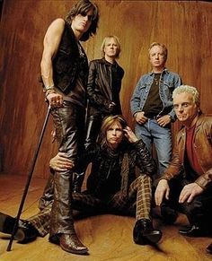 Aerosmith  Although I will never forgive them for cancelling the concert I had tickets to.