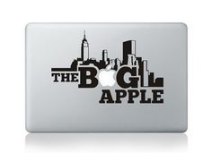 "The Big Apple - Apple Macbook Stickers 13"" 15"" 17"" / Decal / Vinyl / Skin #iDealyYours"