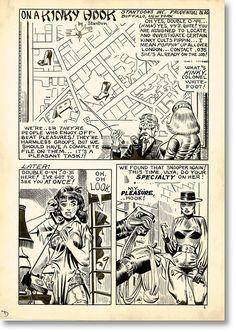 Eric Stanton & Steve Ditko. On a Kinky Hook, Page 1, 1966 - TASCHEN Books