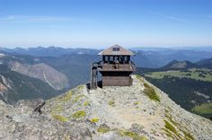Ever thought of renting a fire lookout? Or, just hike to one. Fremont Lookout. Photo and Trip Report by Alisa Prosyanaya
