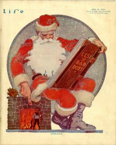 George Carlson's cover for the December 25, 1913 issue of LIFE