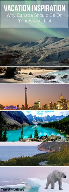 From beautiful mountain ranges to charming coastal towns and bustling, vibrant cities, Canada has everything to offer. Want to plan a trip? Here's where to start!