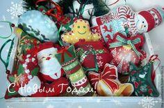 """""""Новогодний хоровод"""" - Новый Год,новый год 2015,елочные игрушки,елочные украшения"""