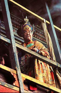 Dilgo Khyentse Rinpoche by Mathieu Ricard