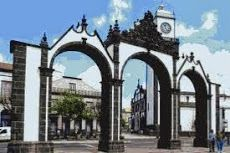 Ponta Delgada.. gates to the city