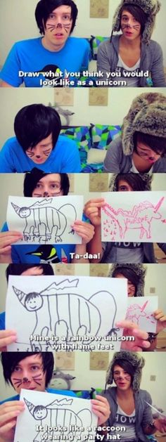 Phil and Dan <3