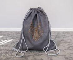 grafika backpack, bag, and embroidered