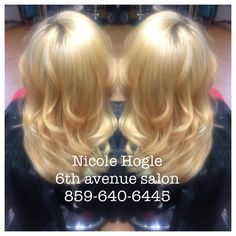 From black to blonde in 2 visits with no damage thanks to olaplex. platinum blonde  Highlights starting at $75/Balayage/ombre starting at $85. Haircuts included with all colors $75 and over.       styleseat.com/nicolehogle 859-640-6445 Dew or Dye 33 east 8th Newport Ky 41071