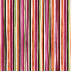 C4324-MULTI TRIBECA MAYA Watercolor Stripe - Quilt Shop Fabric by Timeless Treasures, Pink/Green/Orange/Magenta/White/Brown Striped Fabric by MaterialGirlsQuilt on Etsy