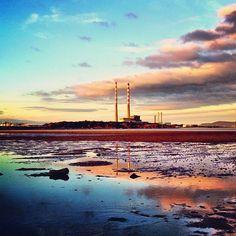 Sandymount Strand in Dublin