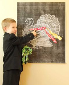 feather and turkey