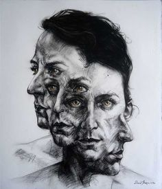 Mental health art, art alevel, self portrait drawing, pencil portrait, huma Art Sketches, Art Drawings, Distortion Art, Mental Health Art, Gcse Art Sketchbook, Sketchbook Ideas, Art Alevel, Arte Obscura, A Level Art