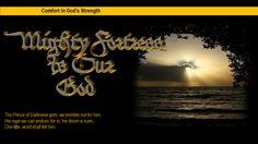 Comfort in God's Strength
