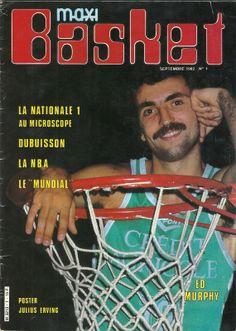 ED MURPHY 1981-1985 Couverture Maxi Basket  Limoges CSP