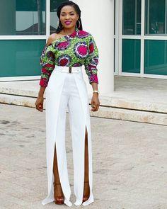 Toute femme africaine devrait avoir au moins un top en pagne wax dans sa  garde robe