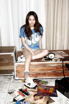 "Krystal F(x) มาในลุคสาวสปอร์ตสุดชิคให้กับ ""Puma"" พร้อมด้วยหนุ่ม Ahn Jae Hyun"