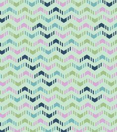 Keepsake Calico Cotton Fabric- Multi Chevron