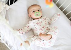 LATCH Pacifier -- helpful for a sleeping routine companion, or soothing mechanism.
