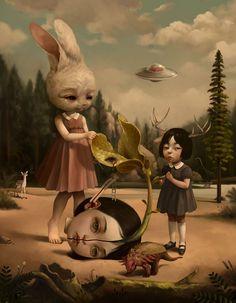 OcéanoMar - Art Site : Roby Dwi Antono. Indonesian Artist. (Lowbrow, pop surrealism.)