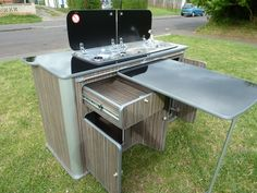campervan slide out kitchen - Google Search