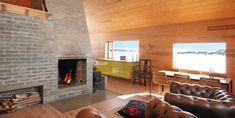Må klatre opp til hytta, men utsikten er verd det. Little Cabin, Cottage, Interior, Home Decor, Anna, Space, Design, Ideas, Accessories