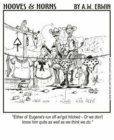 Married Farm Jokes, Cowboy Humor, Horns, Moose Art, Memes, Animals, Image, Funny Stuff, Cartoons