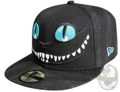 Cheshire Cat. New Era. 55 Boastful New Era Caps #design trendhunter.com
