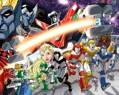 The cartoon series known as Voltron tells the story of five pilots who are battling to save the planet Arus, and the rest of the universe, from the diabolical King Zarkon.