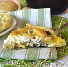 Torta salata con patate e melanzane ricetta facile