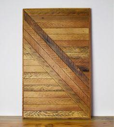 Reclaimed Wood Wall Art reclaimed wood wall art. reclaimed wood art. staggered reclaimed