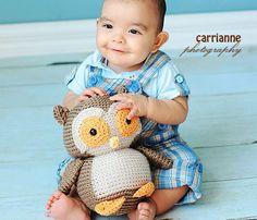 Crochet Nelson the Owl