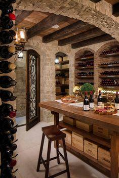 43 Stunning Wine Cellar Design Ideas That You Can Use Today Weinkeller Ideen – Sebring Services Cellar Inspiration, Wine Cellar Basement, Home Wine Cellars, Wine Cellar Design, Wine Cellar Modern, Wine Tasting Room, Italian Wine, Basement Remodeling, Basement Ideas