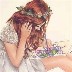 angels drawing