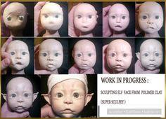 Силиконовая кукла . Фото от лепки в глине до готовой силиконовой куклы / Изготовление авторских кукол своими руками, ООАК / Бэйбики. Куклы фото. Одежда для кукол