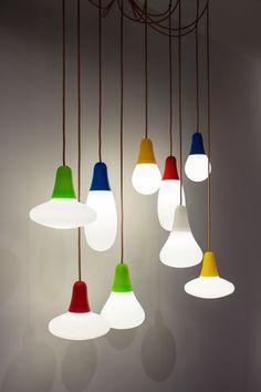 Pendant lamp / contemporary / outdoor / polyethylene CIULIFRULI cod.2089 Emiliana Martinelli Studio 5+1 AA 2015 Martinelli Luce Spa