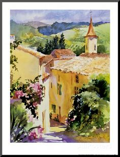 French Vineyards Posters by Karen McLean at AllPosters.com