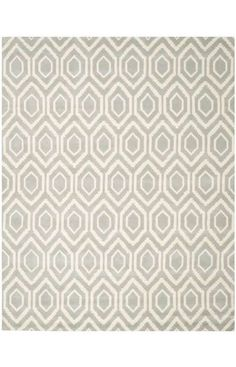 $551 9x9 The Chatham collection is a sophisticated contemporary rug that uses a chevron design. Made in India with a 100% wool pile, this rug is highlighed with Moroccan patterns with modern colors.