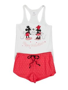 women'secret | Lots of fun | Mickey & Minnie | Mickey and Minnie short cotton pyjama
