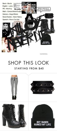 """""""KILLJOYS NEVER DIE"""" by age-of-the-geek ❤ liked on Polyvore featuring Valentino"""