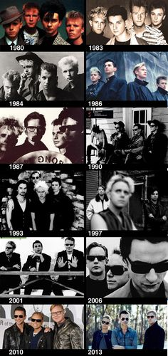 depeche mode - 30+ years of greatness