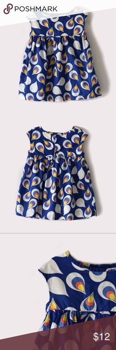 Old Navy Teardrop print dress Old Navy | size 12-18 months | button closure on back | All pictures taken by me, this is the actual product condition Old Navy Dresses Casual