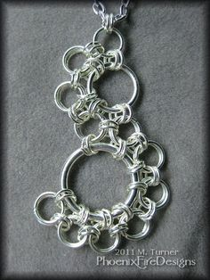 #chainmail #silver #necklace