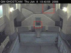 Potential apparitions caught on film by the web cam on the Queen Mary. This is the pool room, which is said to be extremely haunted. What do you think?