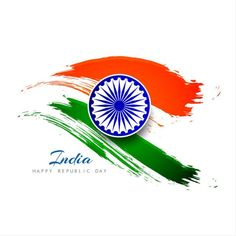 Abstract Indian flag theme background design flag of india PNG and Vector