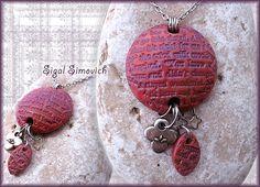 lentil pendant by sigal simovich, via Flickr