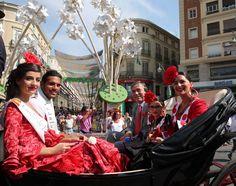 imágenes de la primera jornada de la Feria de Málaga 2013