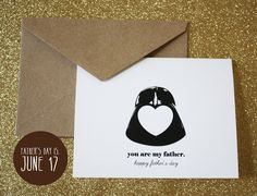 Father's Day Card-Star Wars